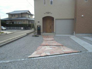 島田市/A様邸(石張り)