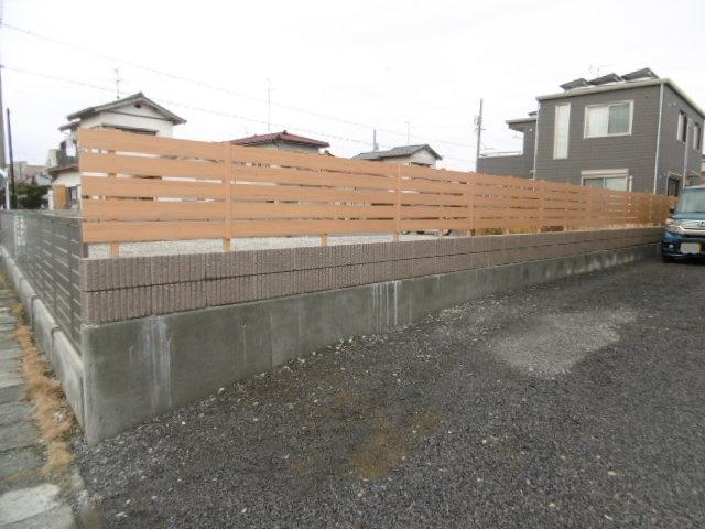 2ブロック・フェンス工事
